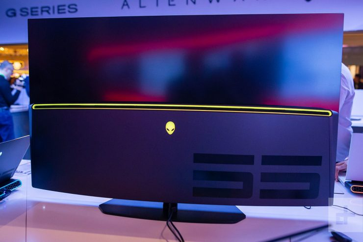 Monitor gaming OLED Alienware 55
