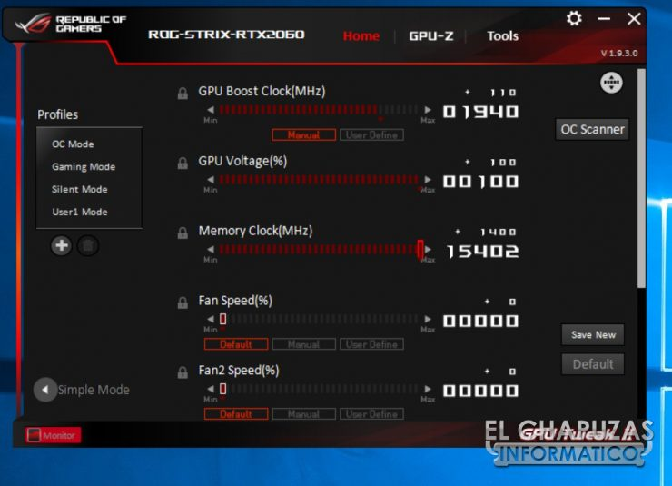Asus ROG Strix Gaming GeForce RTX 2060 OC 6GB 25 740x535 66