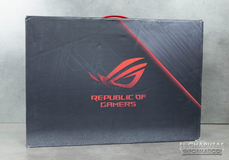 Asus ROG Strix Scar Edition (GL703GS) Embalaje