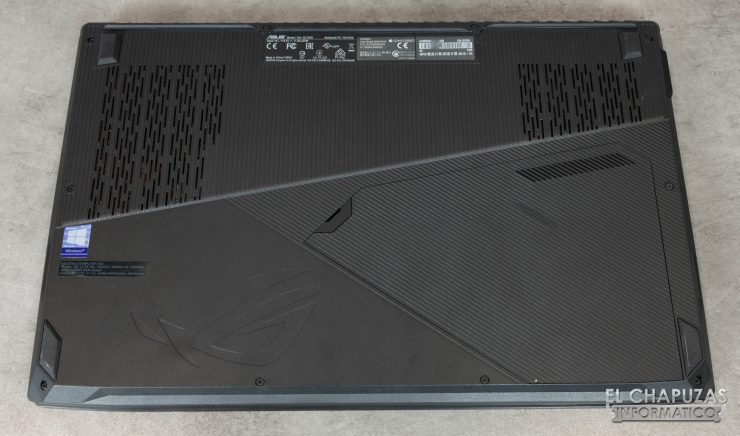 Asus ROG Strix Scar Edition (GL703GS) Base