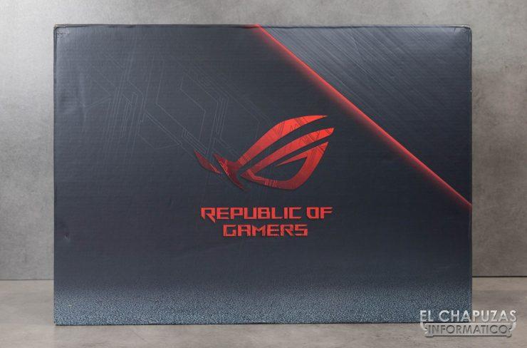 Asus ROG Strix Scar II - GL704GW - Embalaje Exterior