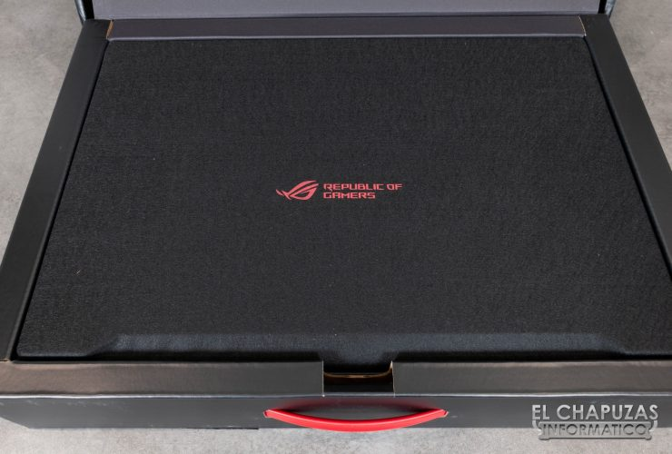 Asus ROG Strix Scar II - GL704GW - Embalaje Interior