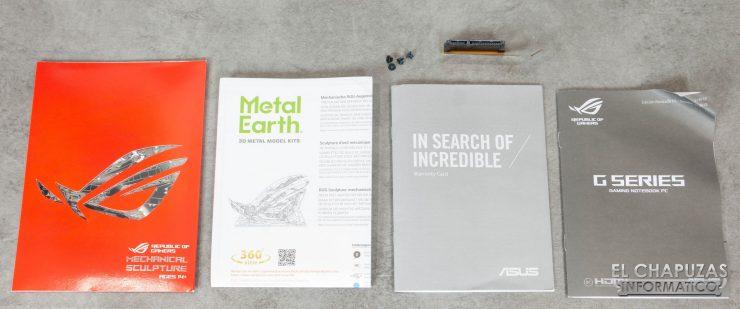 Asus ROG Strix Scar II - GL704GW - Documentación