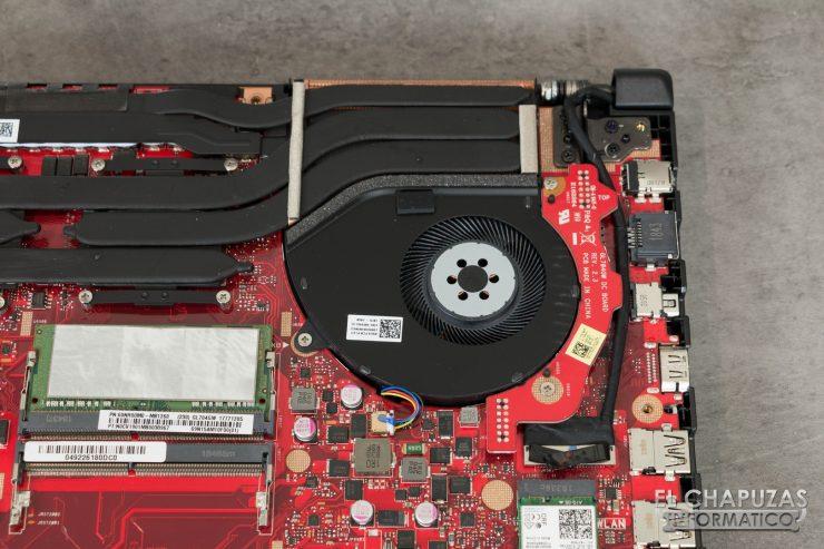 Asus ROG Strix Scar II - GL704GW - Disipador