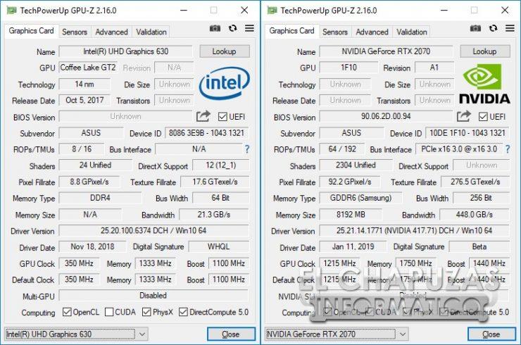 Asus ROG Strix Scar II - GL704GW - GPU-Z