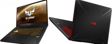 Asus TUF Gaming FX505DY y FX705DY: Portátiles gaming con CPU AMD Ryzen 3000