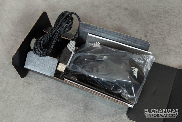 Corsair Harpoon RGB Wireless Embalaje Interior 2