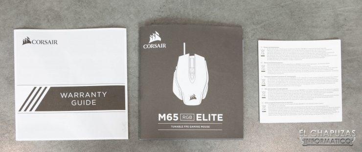 Corsair M65 RGB Elite Documentación