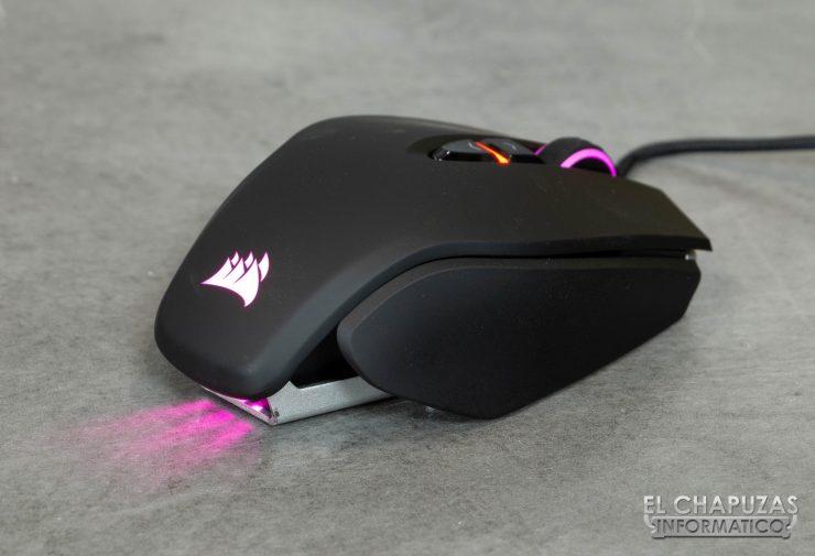 Corsair M65 RGB Elite lateral