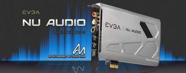 EVGA lanza su tarjeta de sonido para gamers, la NU Audio