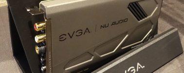 EVGA NU-Audio, una tarjeta de sonido interna para audiófilos