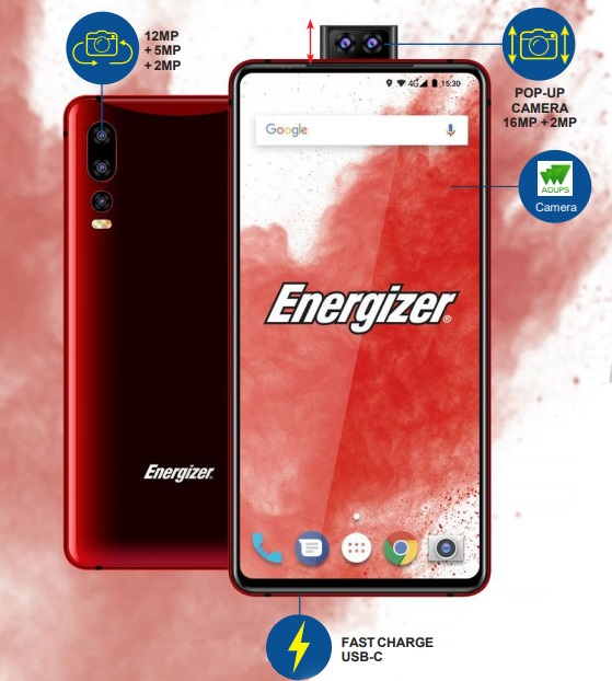 Energizer Ultimate U620S Pop 2 1