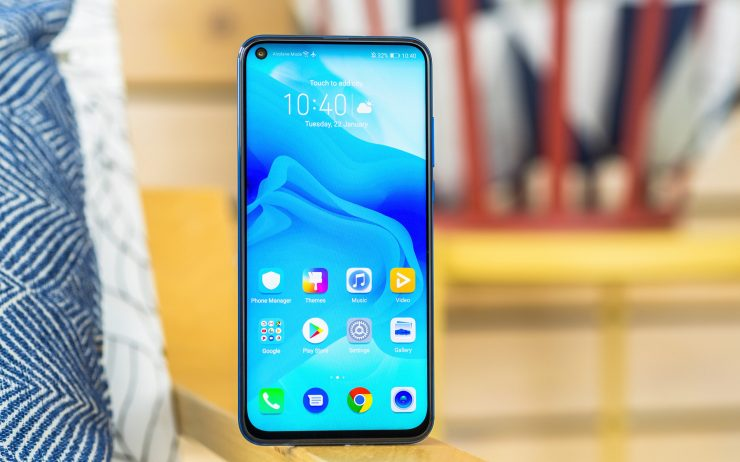 Honor View 20 frontal