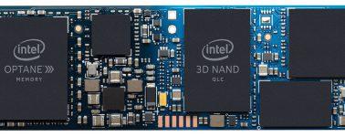 Intel anuncia su SSD M.2 híbrido Optane Memory H10