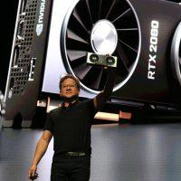 Jensen Huang nos recuerda que Turing @ 12nm es más eficiente que AMD Vega @ 7nm