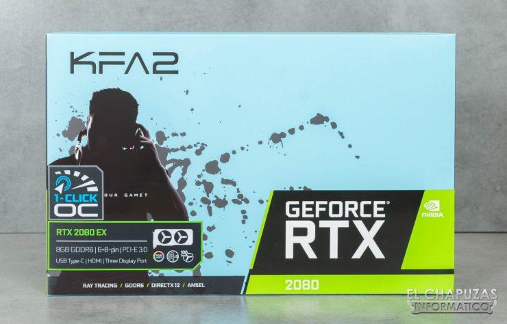 KFA2 GeForce RTX 2080 EX Embalaje Frontal
