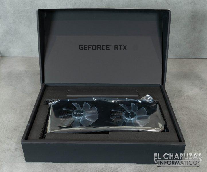KFA2 GeForce RTX 2080 EX Embalaje Interior