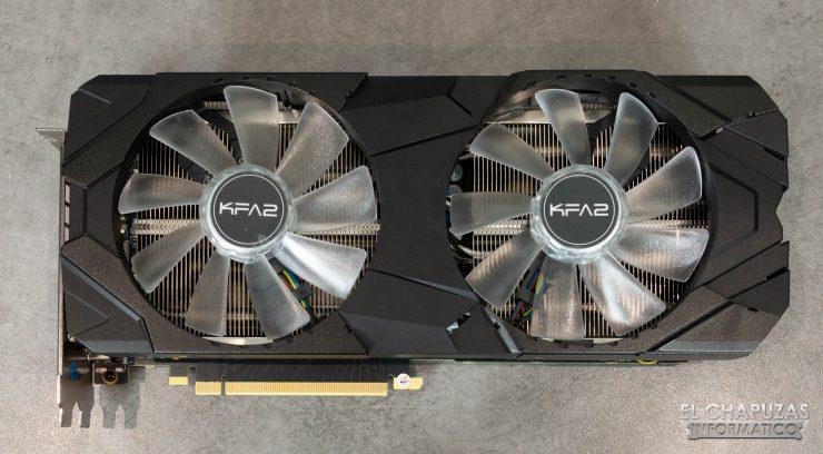 KFA2 GeForce RTX 2080 EX Frontal
