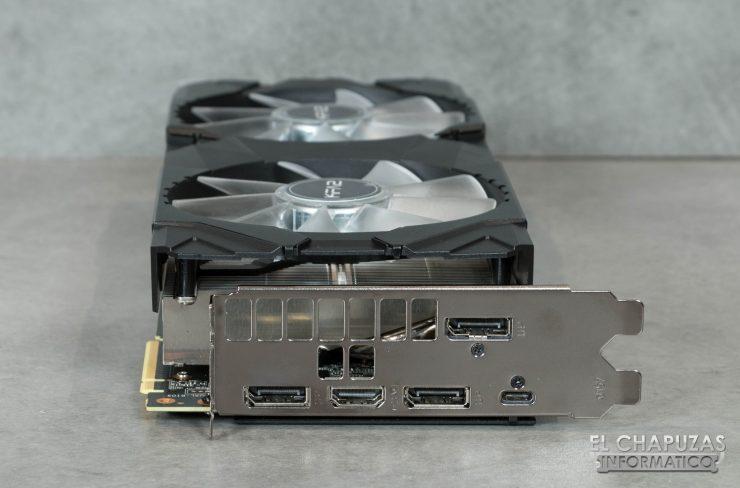 KFA2 GeForce RTX 2080 EX Conectores