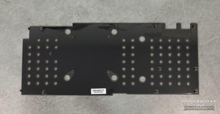 KFA2 GeForce RTX 2080 EX Backplate Retirado