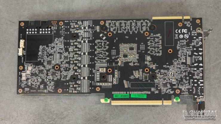 KFA2 GeForce RTX 2080 EX PCB Trasero