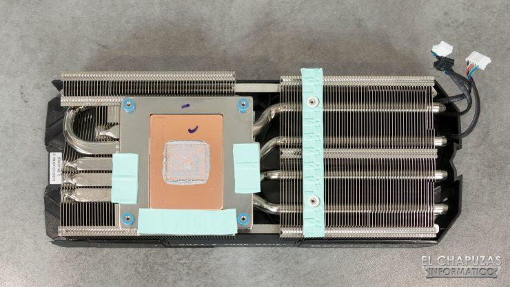 KFA2 GeForce RTX 2080 EX PCB Disipador