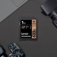 Lexar Professional 633x, la primera tarjeta SDXC UHS-1 en alcanzar 1TB de capacidad