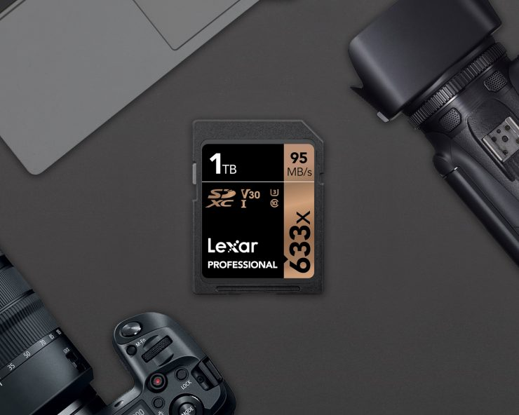 Memoria SD 1TB Lexar Professional 633x
