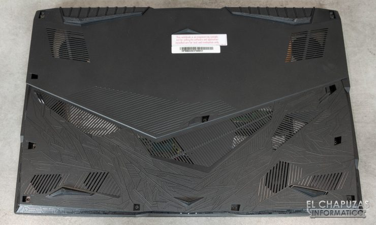 MSI GE75 Raider 8RF base