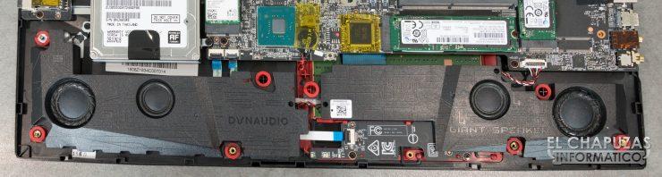MSI GE75 Raider 8RF altavoces