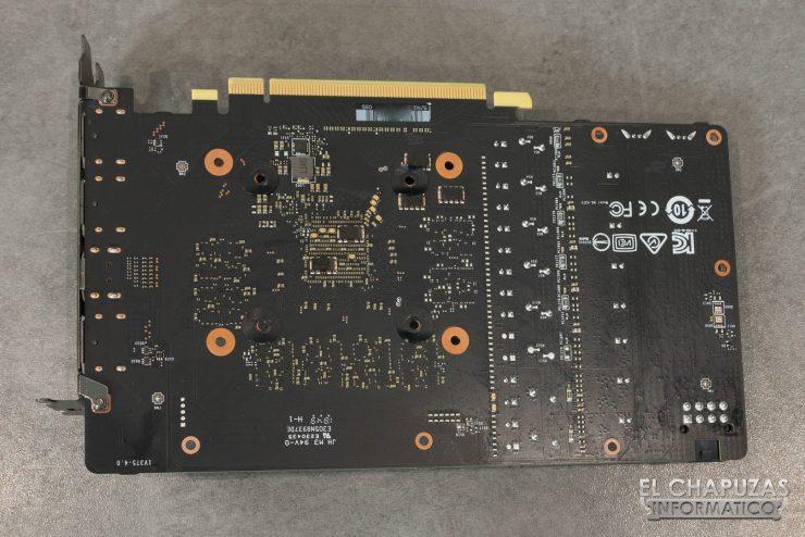 MSI GeForce RTX 2060 Gaming Z PCB Trasero