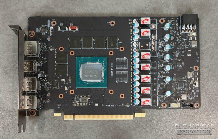 MSI GeForce RTX 2060 Gaming Z PCB Frontal