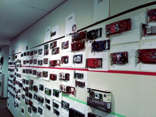 Microsoft Direct3D con tarjetas gráficas en las paredes (3)