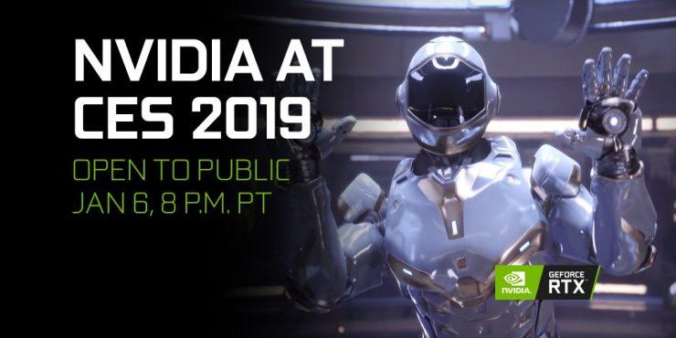 Evento Nvidia CES 2019