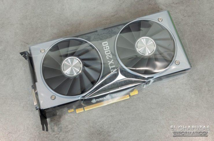 Nvidia GeForce RTX 2060 Founders Edition funda