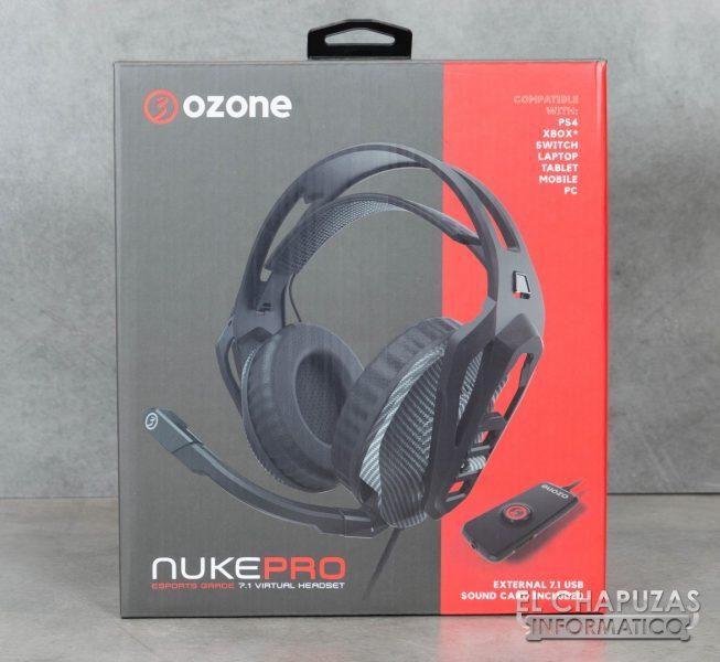 Ozone Nuke Pro Embalaje Frontal