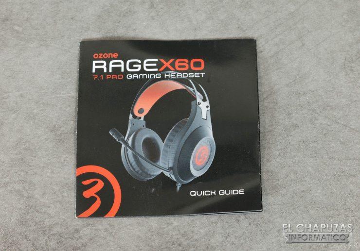 Ozone Rage X60 Manual