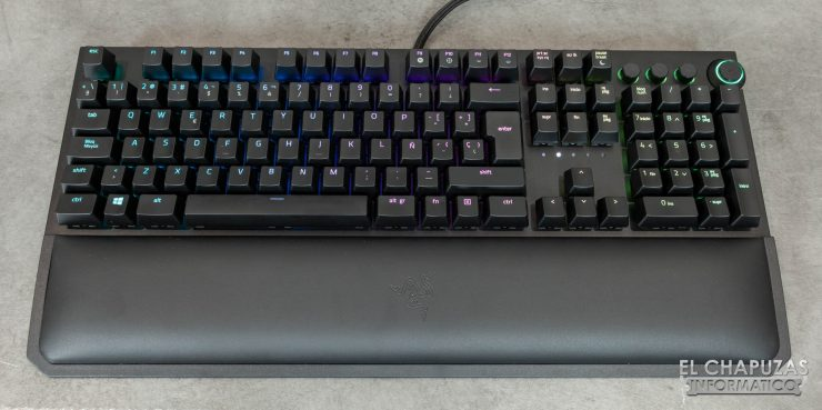Razer Blackwidow Elite con Reposamuñecas