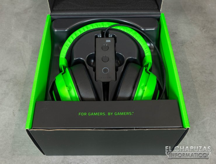 Razer Kraken Tournament Edition Embalaje Interior
