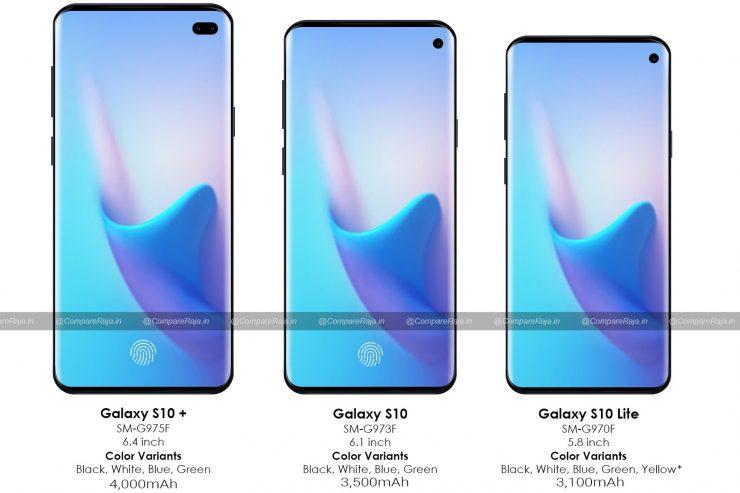 Samsung Galaxy S10 variantes 740x493 0