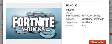 Los criminales están usando Fortnite para blanquear el dinero