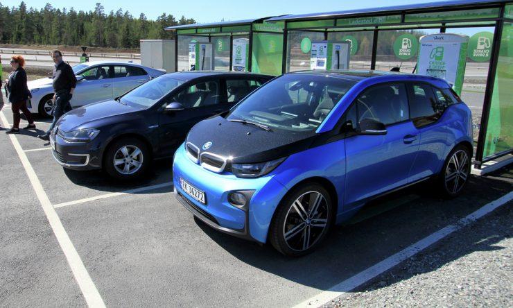 Vehículos eléctricos en Noruega