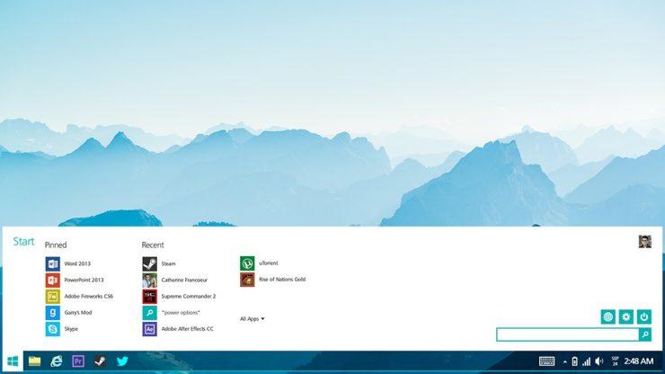 Windows Lite interfaz
