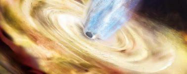 Consiguen observar cómo cambia un agujero negro al devorar una estrella