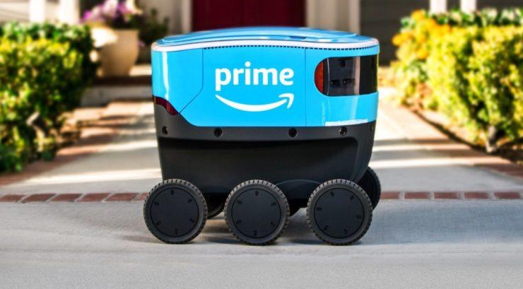 Amazon robot Scout