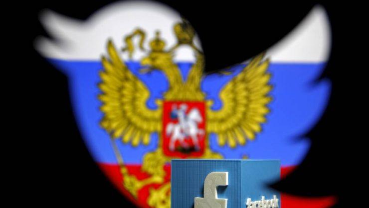 Facebook Twitter Rusia