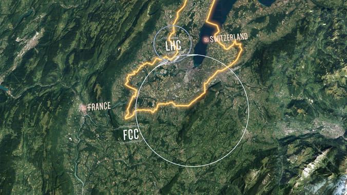 Futuro Colisionador Circular (FCC) CERN