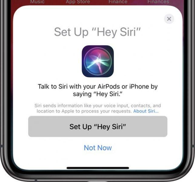 Siri AirPods