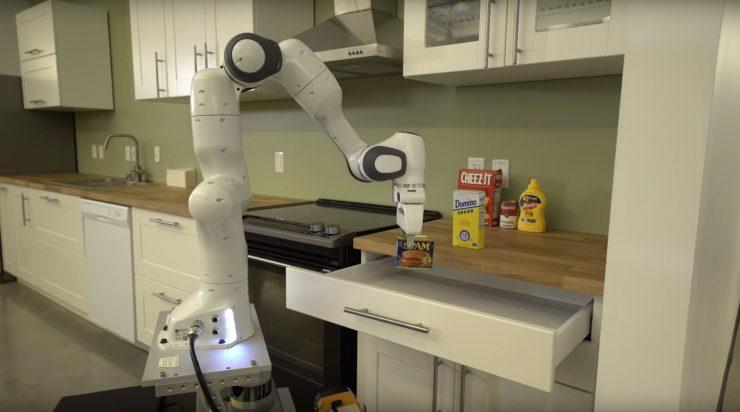 Nvidia robot cocina