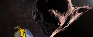 La nave New Horizons sobrevuela Ultima Thule, el asteroide más lejano jamás explorado